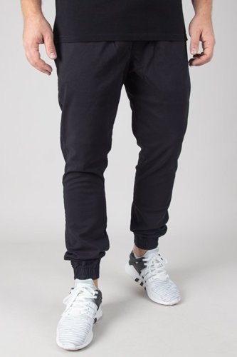 ELADE PANTS CHINO JOGGER NEW HAFT BLACK