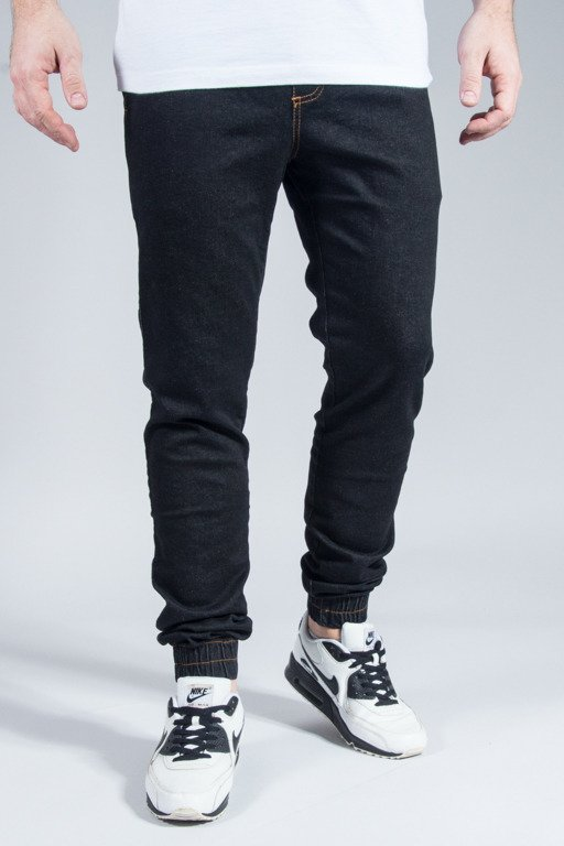 ELADE PANTS JEANS JOGGER NEW BLACK