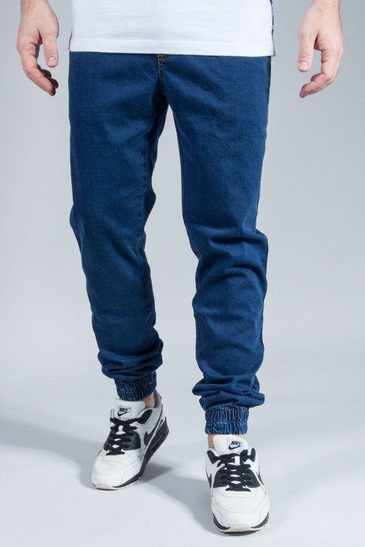 ELADE PANTS JEANS JOGGER NEW NAVY