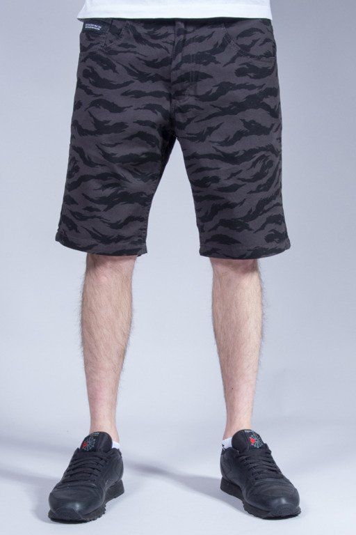 ELADE SHORTS CHINO TIGER GREY