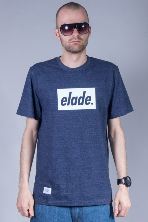 ELADE T-SHIRT BOX LOGO NAVY