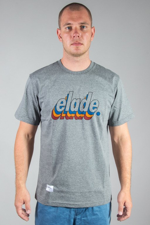 ELADE T-SHIRT LOGO 90\'S GREY