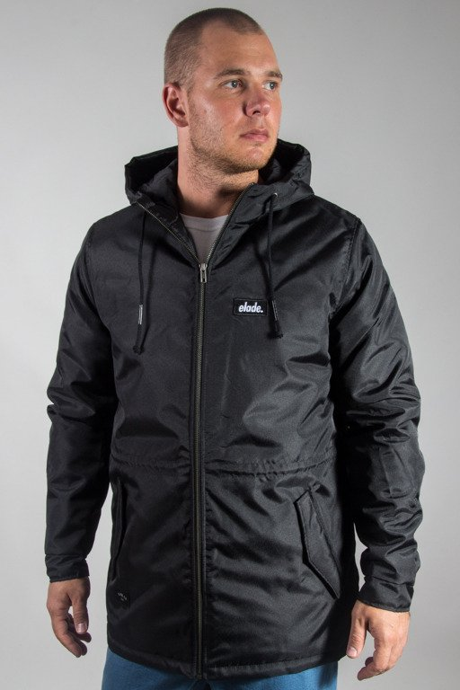 ELADE WINTER JACKET LOGO BLACK