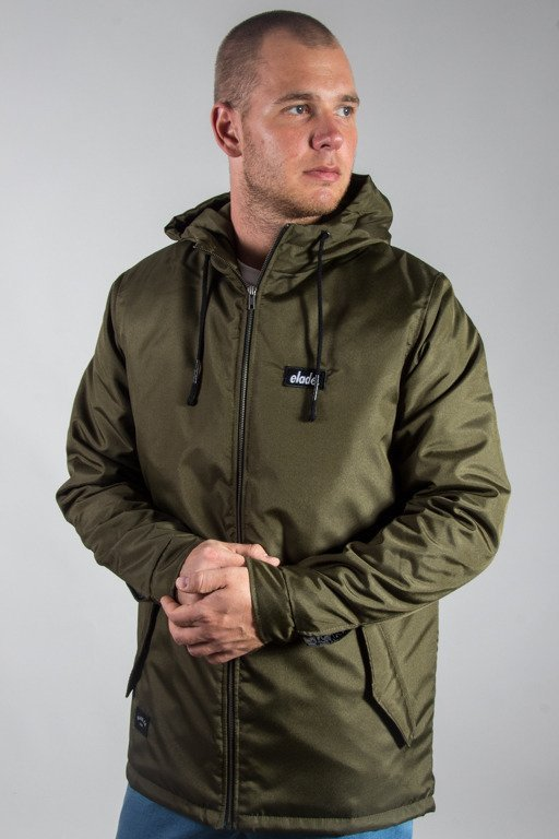 ELADE WINTER JACKET LOGO KHAKI