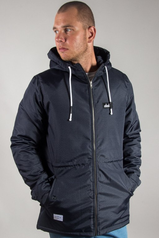 ELADE WINTER JACKET LOGO NAVY
