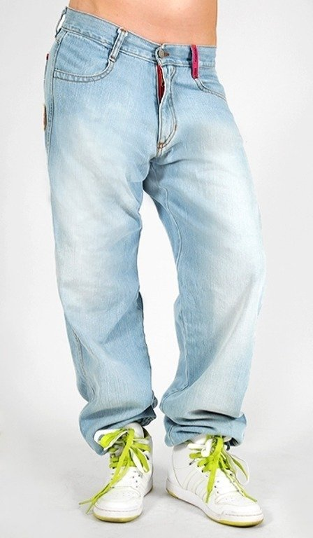 ENDORFINA SPODNIE JEANS BAGGY SURE THING