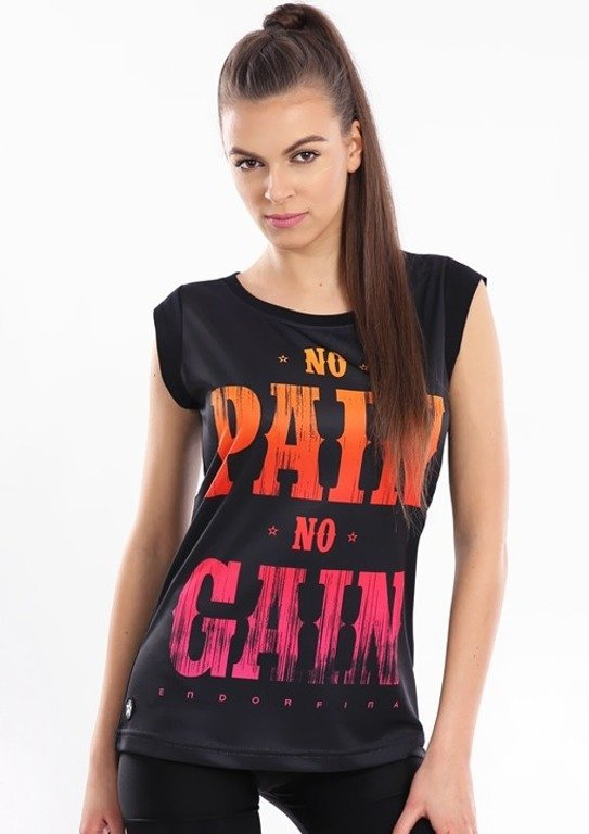 ENDORFINA T-SHIRT NO PAIN BLACK