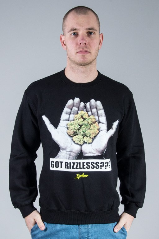 EQUALIZER CREWNECK HANDS BLACK