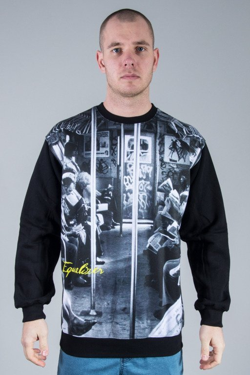 EQUALIZER CREWNECK TRAIN BLACK