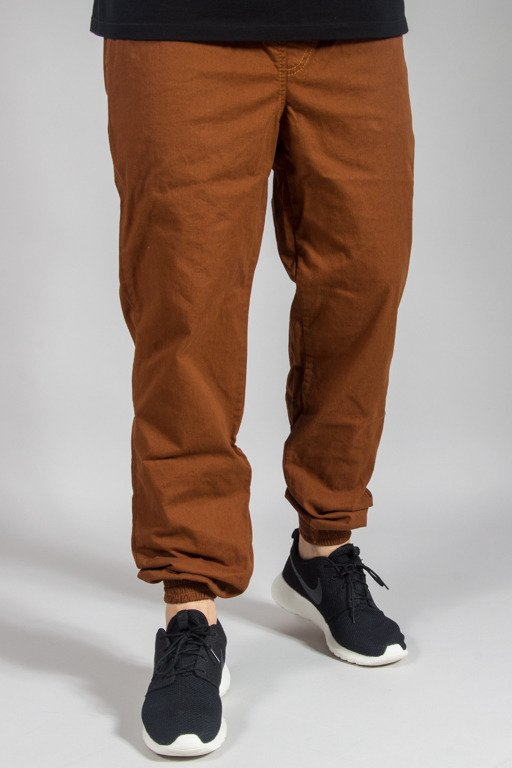 EQUALIZER PANTS CHINO JOGGER CLASSIC BROWN