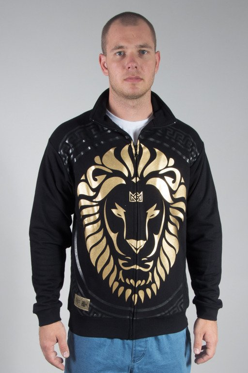 GANJA MAFIA CREWNECK ZIP KA\'LION BLACK