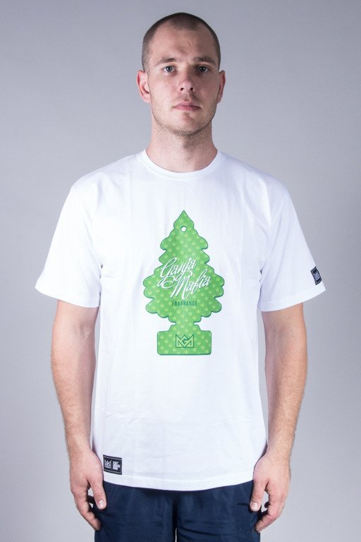 GANJA MAFIA T-SHIRT FRESH WHITE