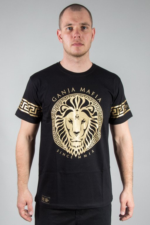 GANJA MAFIA T-SHIRT KA\'LION BLACK