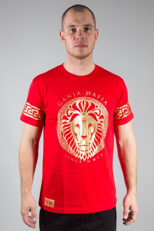 GANJA MAFIA T-SHIRT KA\'LION RED
