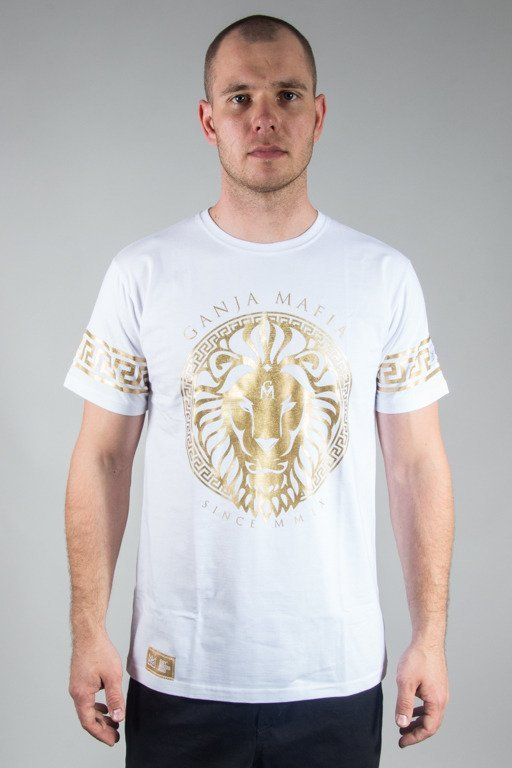 GANJA MAFIA T-SHIRT KA\'LION WHITE