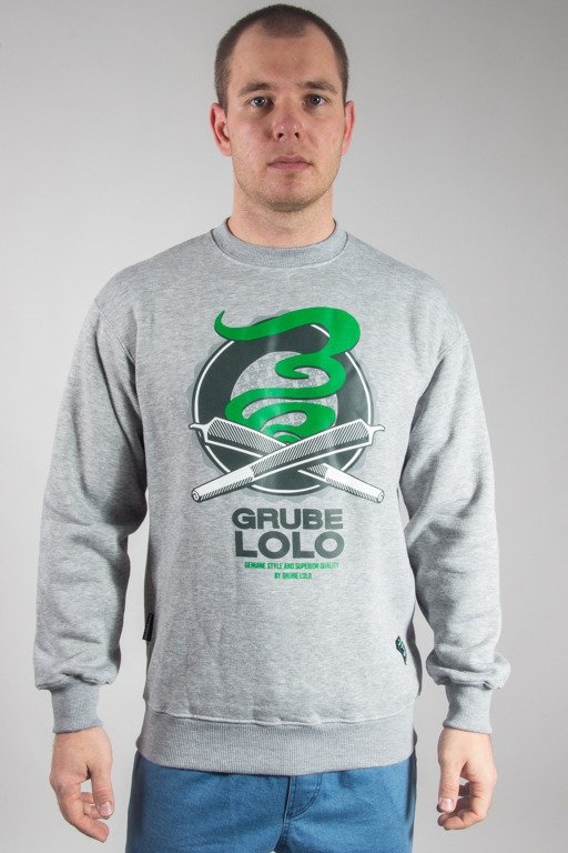 GRUBE LOLO CREWNECK DOUBLE JOINTS MELANGE