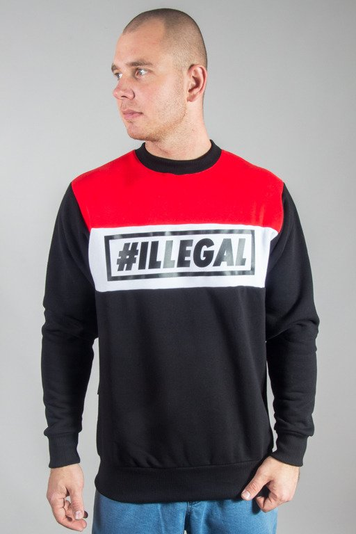 ILLEGAL CREWNECK 3COLORS BLACK