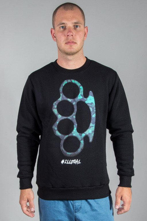 ILLEGAL CREWNECK KASTET BLACK