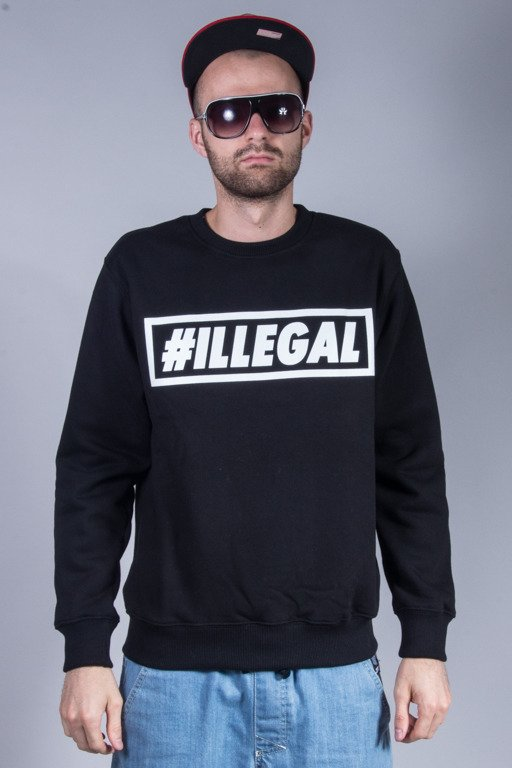 ILLEGAL CREWNECK KLASYK BLACK