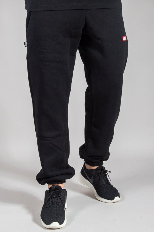 ILLEGAL SWEATPANTS ILLL DRES SMALL BLACK