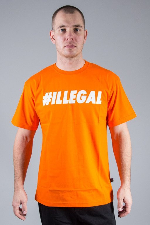 ILLEGAL T-SHIRT ILLEGAL ORANGE