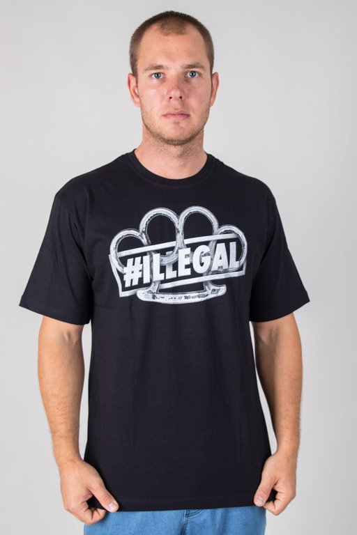 ILLEGAL T-SHIRT KASTET BLACK