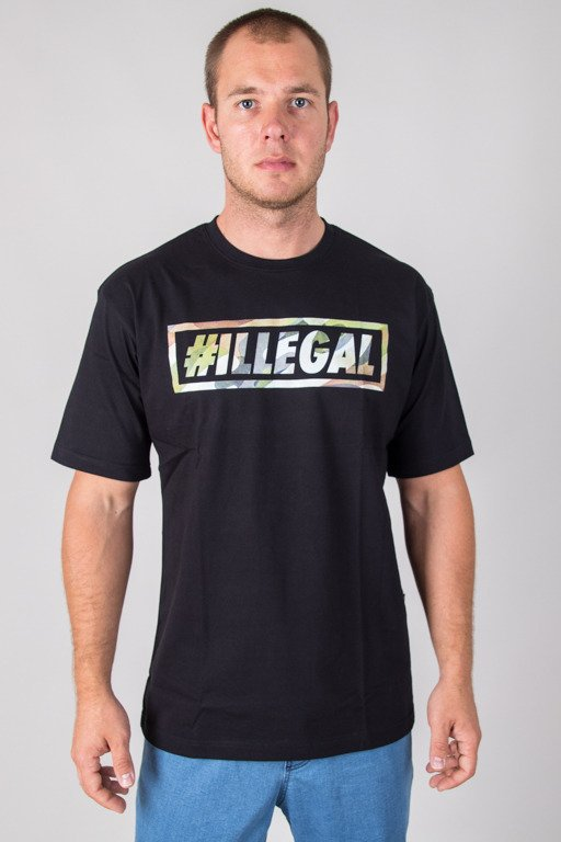 ILLEGAL T-SHIRT MORO BLACK