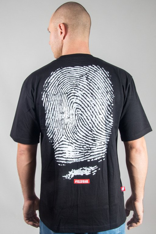 ILLEGAL T-SHIRT ODCISK BACK