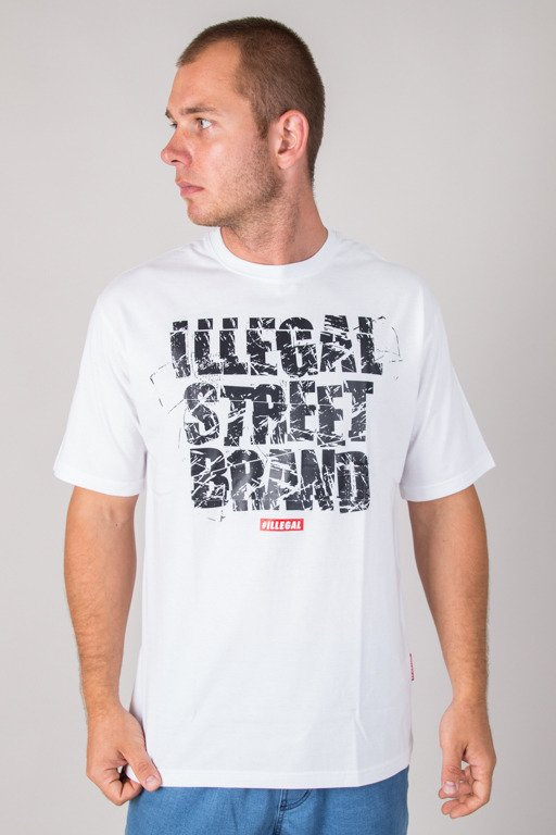ILLEGAL T-SHIRT STREET BRAND WHITE