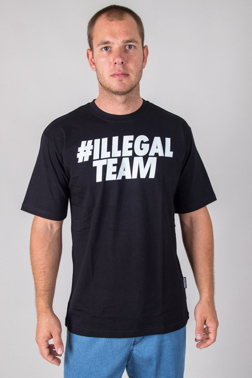 ILLEGAL T-SHIRT TEAM BLACK