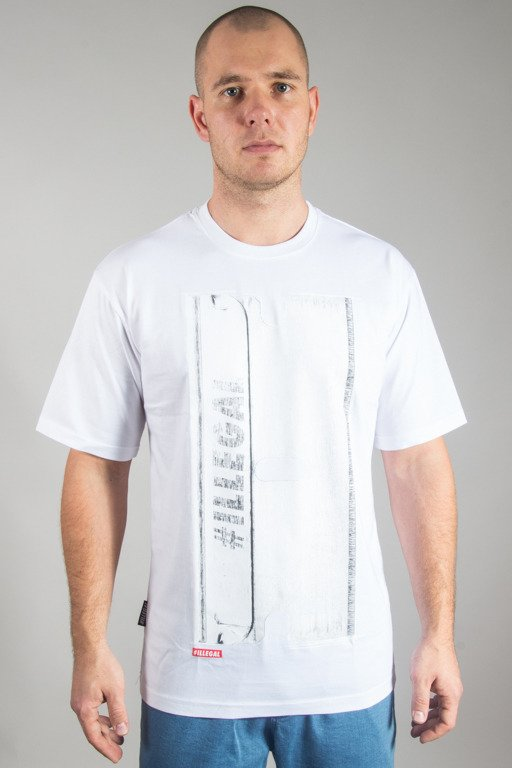ILLEGAL T-SHIRT ŻYETA WHITE