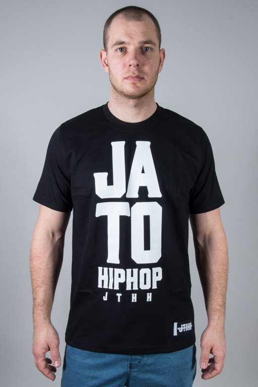 JTHH T-SHIRT JA TO HIP HOP BLACK