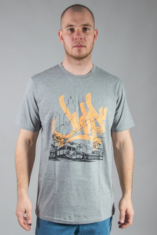 JWP T-SHIRT HOMETOWN GREY