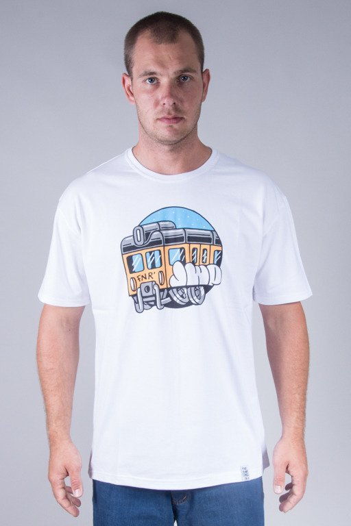 JWP T-SHIRT TRAIN WHITE