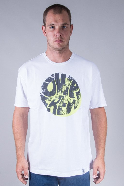 JWP T-SHIRT TRASH WHITE-WHITE-GREEN