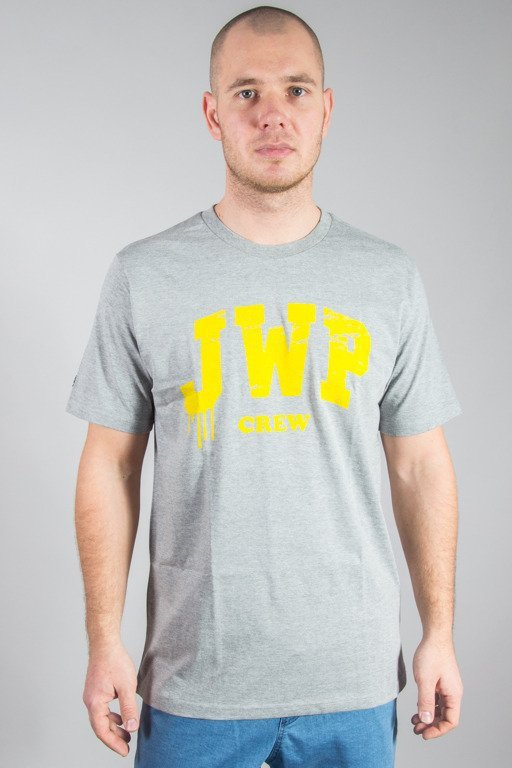 JWP T-SHIRT TRUESCHOOL GREY