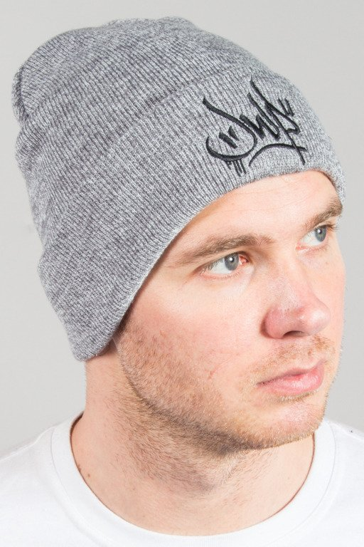 JWP WINTER CAP EMBROIDERY GREY