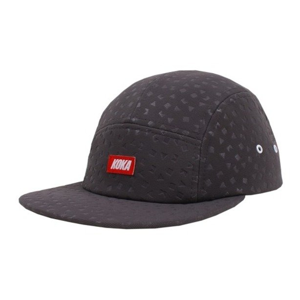 KOKA CAP 5PANEL PRESS  GREY
