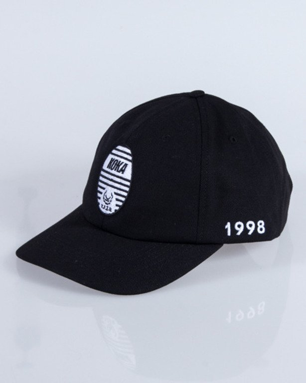 KOKA CAP 6PANEL TRUIN BLACK