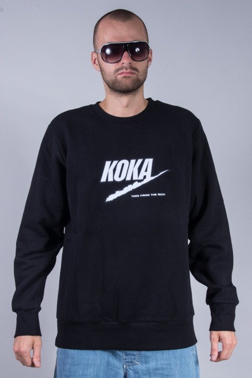 KOKA CREWNECK FAKE BLACK