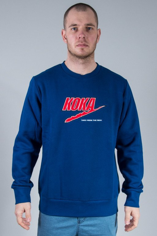 KOKA CREWNECK FAKE NAVY