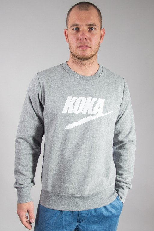 KOKA CREWNECK FAKE TAPE GREY