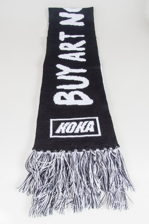 KOKA SCARF ICONS BLACK
