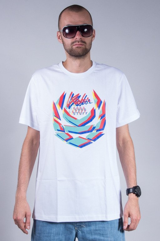 KOKA T-SHIRT BLURRY LAUREL WHITE