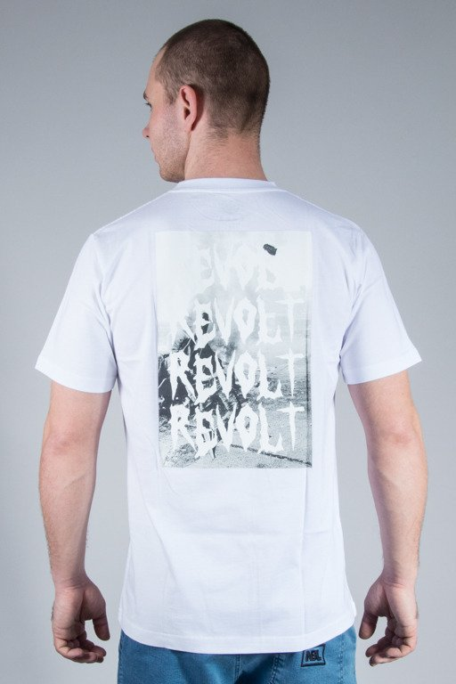 KOKA T-SHIRT FIRE ALERT WHITE