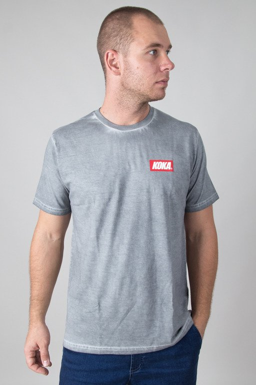 KOKA T-SHIRT MINI BOXLOGO PREW DARK GREY