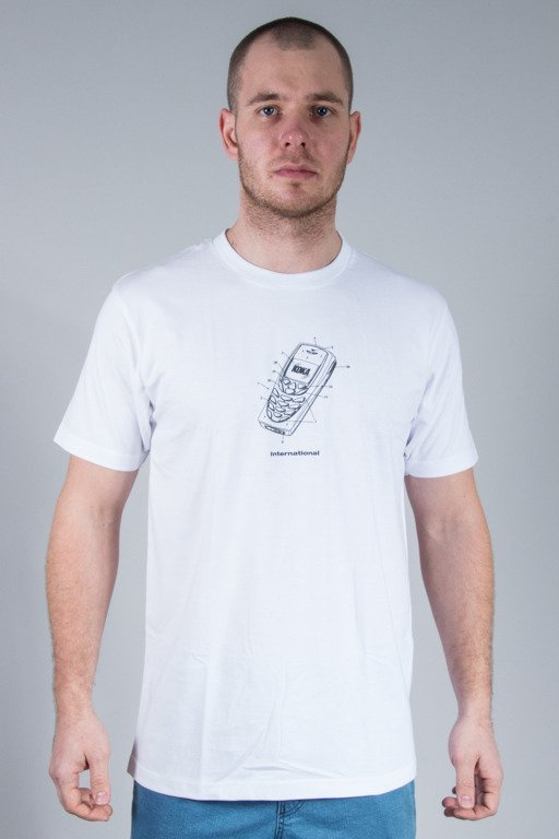KOKA T-SHIRT MOBILE WHITE