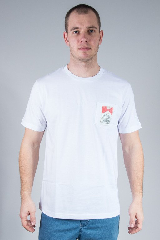 KOKA T-SHIRT SMOKER WHITE