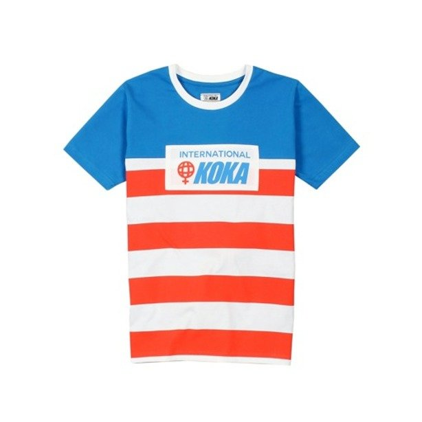 KOKA WMNS T-SHIRT BEDFORD AV GIRLS BLUE