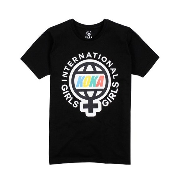 KOKA WMNS T-SHIRT BRIGHTON GIRLS BLACK